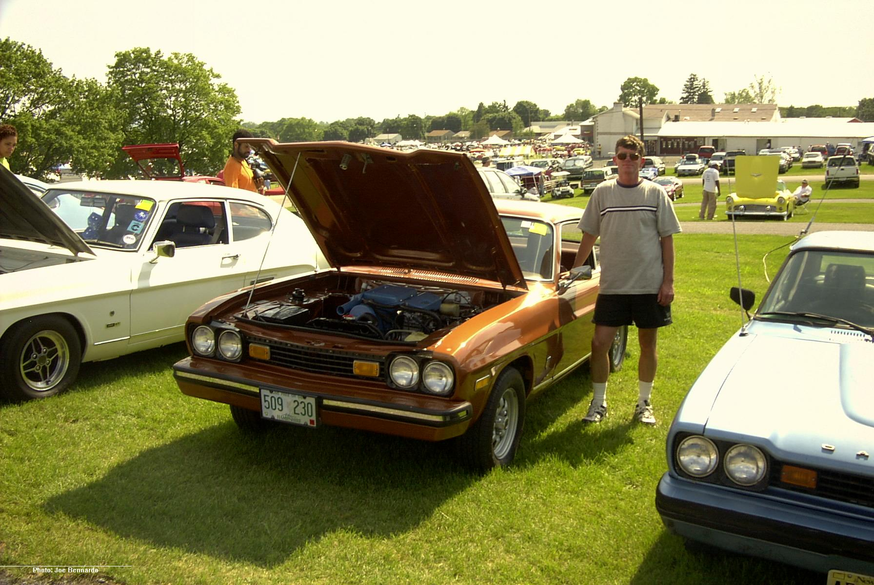 capri club north america capris at carlisle 2002